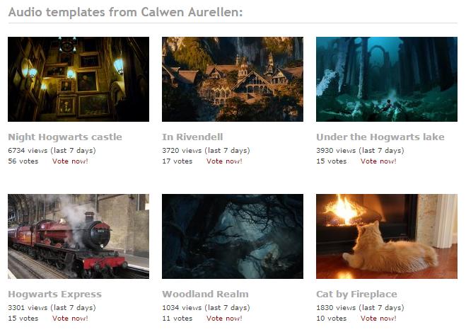 Calwen Aurellen's Ambient Mixer profile