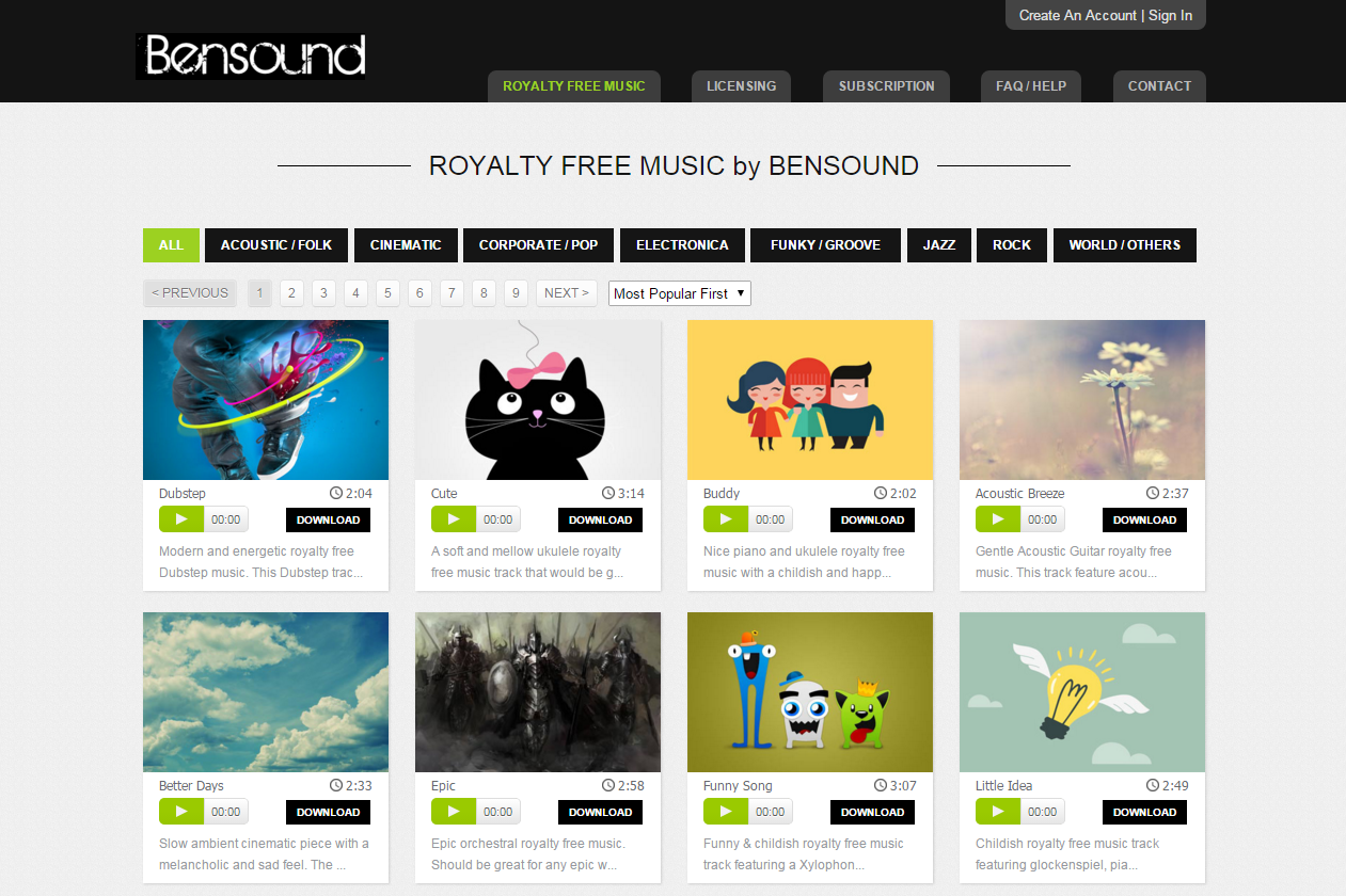 More Royalty Free Sound Effects And Music - The Ambient