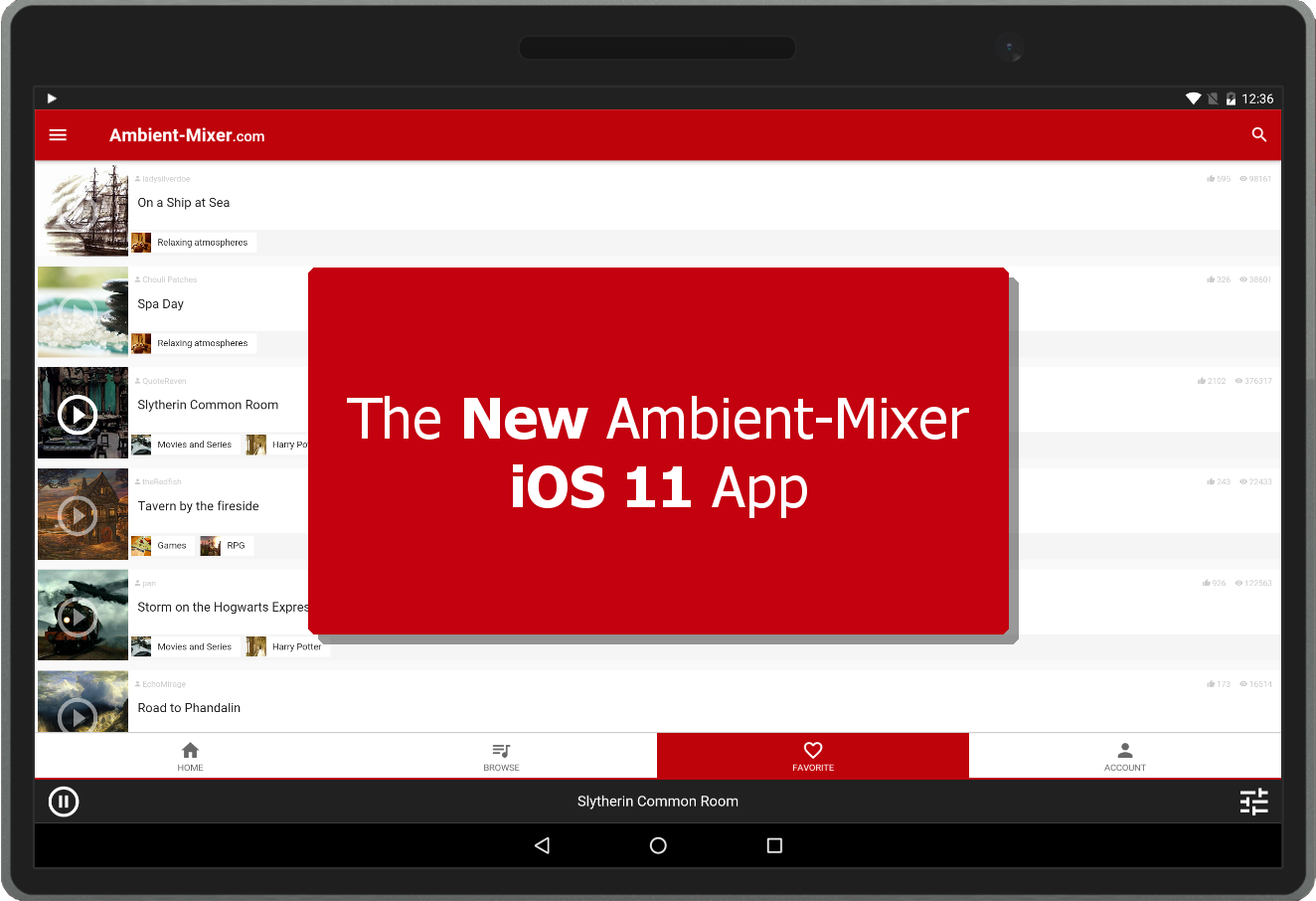 The New & Improved iOS 11 Ambient Mixer App