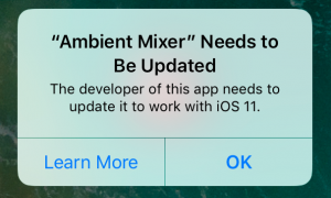 The New & Improved iOS 11 Ambient Mixer App - The Ambient Mixer Blog