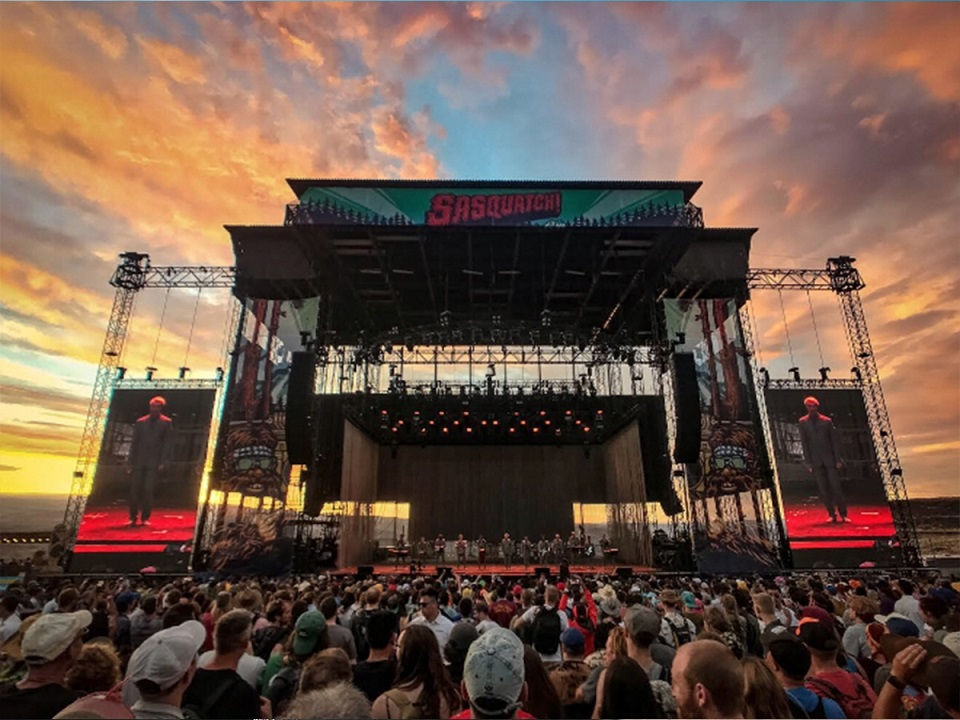 It's the end of the Sasquatch! music festival
