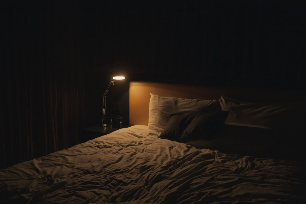 ambient room settings help get ready for sleep